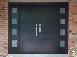 front door doubleModern Entry Door in African Mahogany  For the Home  Pinterest