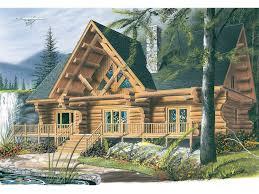Lodge Style Log Home Plans4 Bedroom Log Cabin Floor Plans
