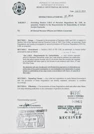 Sample Letter For Tax Exemption In The Philippines