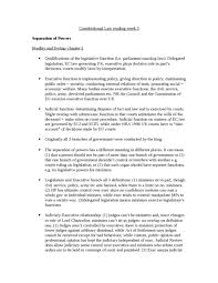 separation of powers oxbridge notes the united kingdom separation of powers notes