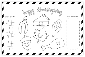 A bucket of crayons, colored pencils or markers (washable markers are a great idea!) will be just what the kids need. Free Thanksgiving Printable Placemat