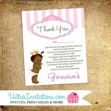 Baby Card Notes Baby Thank You Card Wording Sample For Gift Example Shower
