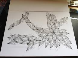 Simple Patterns To Draw Cool Dynamic Drawing Archive 48simplepatternstodrawonpaper