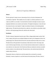 Example Of A Lab Report E45 Uniaxial Tensile Test Lab Report E45 Lab Report 2 Figure 1