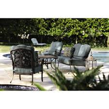 Small Picture Home Decorators Collection Madrid Bronze 6 Piece Patio Seating Set
