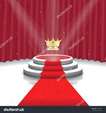Carpet Pattern Background Home Design Template Illuminated Stage Podium With Crown Red Carpet Save To A Lightbox Open Floor Home Pattern Background S
