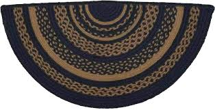 navy jute rug patriot navy jute rug half circle navy border jute rug