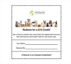 Referral Coupon Template Magnificent Coupon Card Template Referral Business Free Spitznas