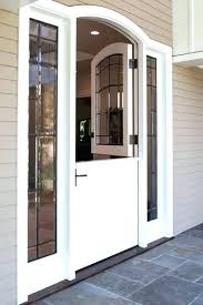 dutch door with screen built in x size fiberglass dutch door with screen
