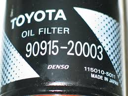 Toyota Oil Filter Cross Reference Chart Best Picture Of