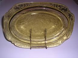 Amber Depression Glass Patterns