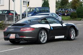 SpyShots: 2012 Porsche 911 Carrera Coupe | Nordschleife Autoblahg