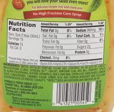 Olive Garden Caesar Salad Dressing Nutrition