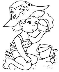 Small Picture Beach Scene Coloring Pages Kids Coloring Pages For Kids