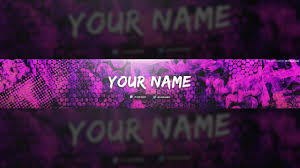 Free Colorful Texture Youtube Banner Template Tutorial Photoshop