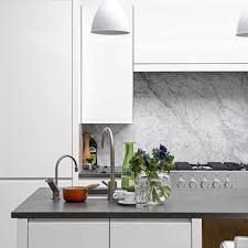 white marble tile kitchen.  Tile Turn To Stone To White Marble Tile Kitchen B