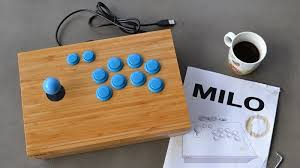 ilration for article titled build your own arcade stick encased in ikea parts