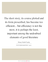 The Short Story Its Course Plotted And Its Form Proscribed