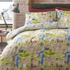 Map Bedding Boys Double Duvet Covers Ginger May Ginger May ... & Map Bedding Boys Double Duvet Covers Ginger May Ginger May Throughout Boys  Duvet Covers Plan ... Adamdwight.com