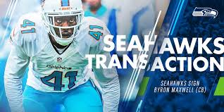 We have signed CB Byron Maxwell, Richard... - Seattle Seahawks | Facebook