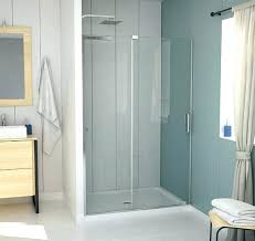 showers inch shower door and x kit 32 build your own doors a 3
