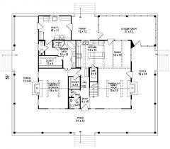 ranch house plans with wrap around porch and basement elegant rectangular house plans wrap around porch