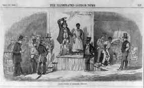 black peoples of america the slave auction history