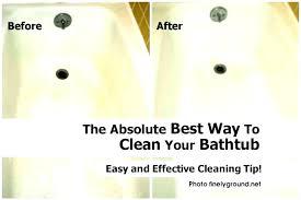 cleaning bathtub jets ideas