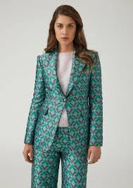 Patterned Blazer Womens Cool Women's Jackets Blazers Emporio Armani