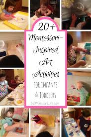 20+ Montessori-Inspired Art Activities for Infants and Toddlers ...