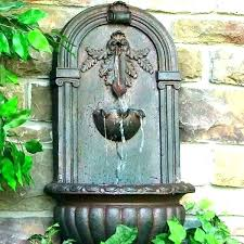 decorative wall water fountains decorative outdoor wall fountains wall waterfall fountains outdoor wall fountain outdoor wall