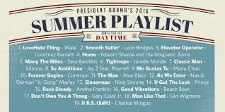 pres obama curates 39 songs for a