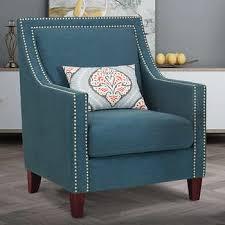 Blue Brown Edwin Fabric Chair Costco Wholesale Chairs Costco