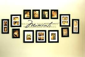 picture collage ideas wall living room photo frames pertaining to for fo