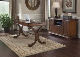 wood home office. Fontaine Cherry Wood Home Office Desk And Credenza $1625 A