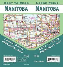 Manitoba Distance Chart Manitoba Road Map