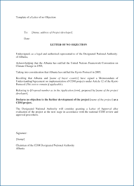Noc Certificate Format In Pdf Cute No Objection Request