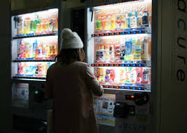 Girl Vending Machine Stunning Tokyo Night Photography Shinjuku Walk Japan After Dark La