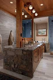 rustic bathroom lighting. Lighting Fixtures , Rustic Bathroom Vanity : Bronze Three Lights O