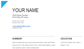 ... Nonsensical Resume On Google Docs 8 To ...