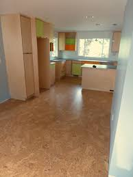 Cork Floor In Kitchen Cork Flooring Installation Tile Plank Seattle