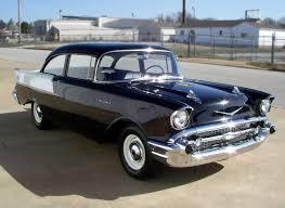 Black Widow… '57 150 fuel injected two door post (Chevrolet ...