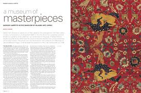 pdf a museum of masterpieces safavid carpets in the museum of ic art qatar