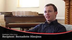 Professing Excellence 2014 - Bernadette Hinojosa - YouTube