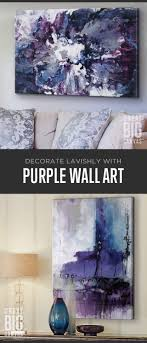 Purple Wall Decor For Bedrooms 17 Best Ideas About Purple Wall Art On Pinterest Purple Wall