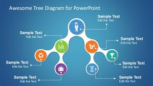 tree diagram powerpoint awesome tree diagram