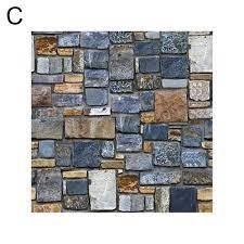 Bricks Wall Sticker Bedroom Wallpaper ...