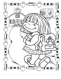back to school coloring pages for first grade first school coloring pages day of page kids