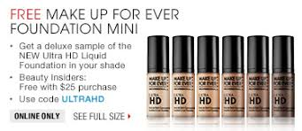 makeup forever promo code toturials