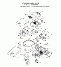 kenmore intuition parts. parts for 116.29219800 | kenmore vacuum cleaners model 116 diagram intuition c